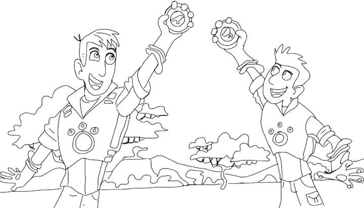 wild kratts coloring page - Google Search | Wild kratts birthday ... | 411x720