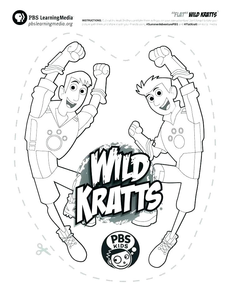 736x938 Wild Kratts Coloring Pages To Print Wild Coloring Pages Wild