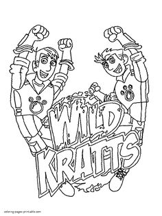 236x315 Wild Kratts Coloring Pages
