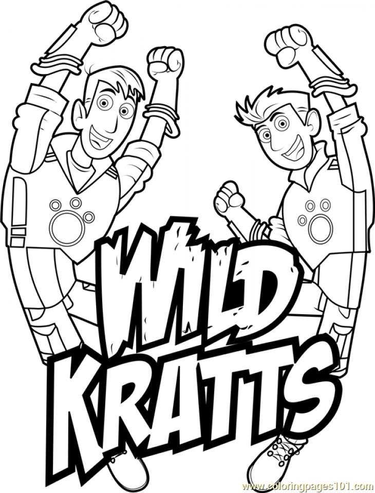 730x960 Wild Kratts Coloring Pages