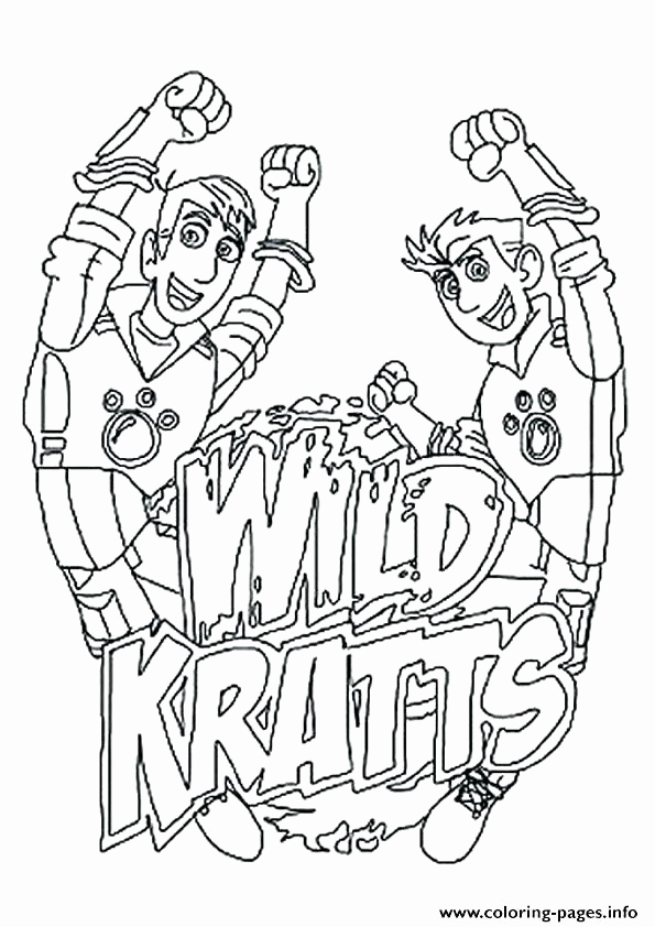 595x842 Kratt Brothers Coloring Pages Image Wild Kratts Printable Coloring