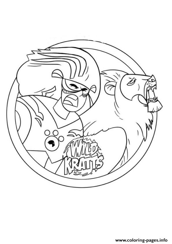 595x842 Wild Kratts Printable Coloring Pages Printable