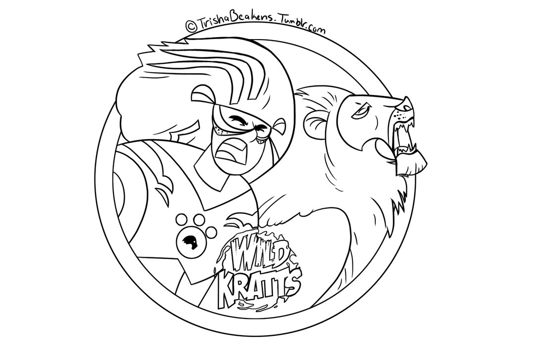 1095x730 Printable Wild Kratts Coloring Pages