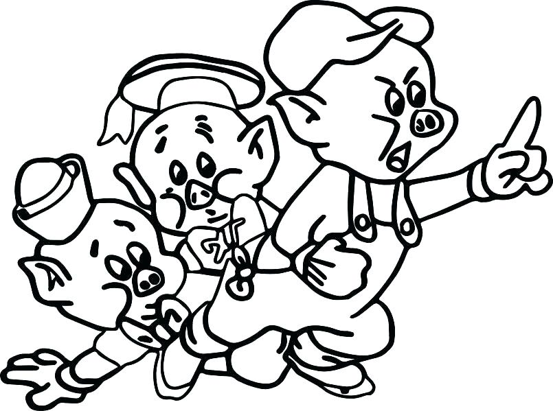 805x599 Happy Coloring Pages Pigs Nice Unknown Happy Coloring Pages