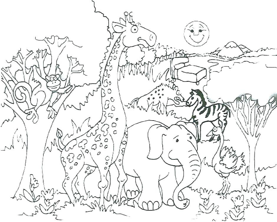 940x755 Where The Wild Things Are Printable Colouring Pages This Is