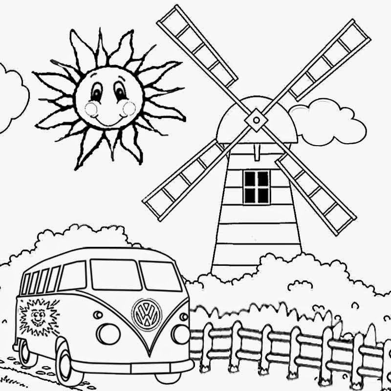 Wild Things Coloring Pages