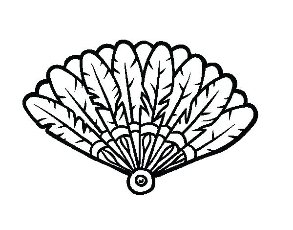 600x470 Coloring Page Of Turkey Feather Coloring Page Feather Coloring