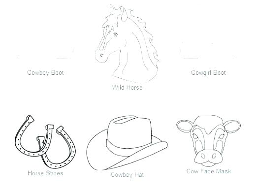 520x394 Sheriff Callies Wild West Colouring Pages Coloring Western Rodeo