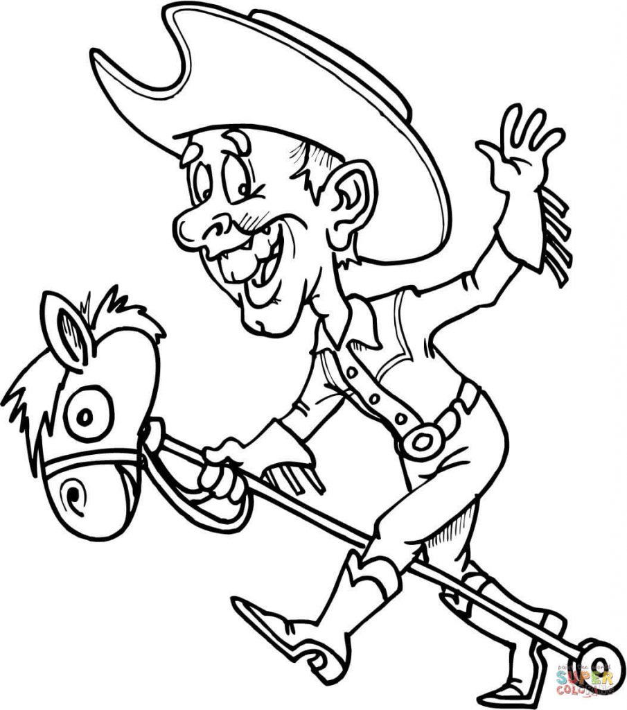 905x1024 Western Coloring Pages