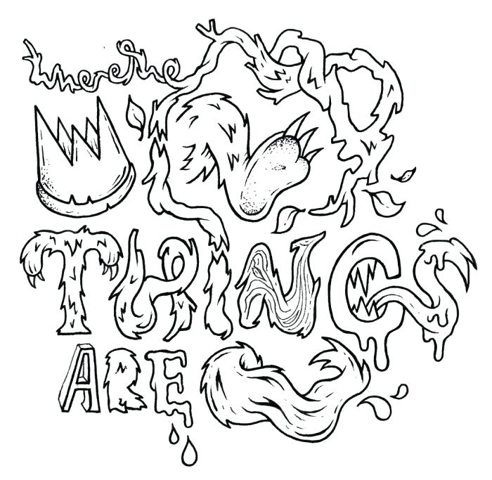 700x683 Where The Wild Things Are Coloring Page Coloring Pages Gallery
