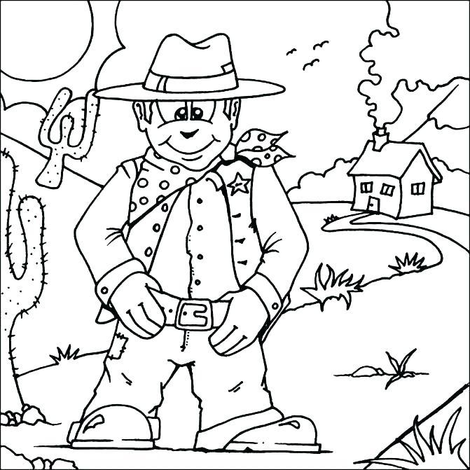 671x671 Wild West Coloring Pages Wild West Coloring Pages Wild West