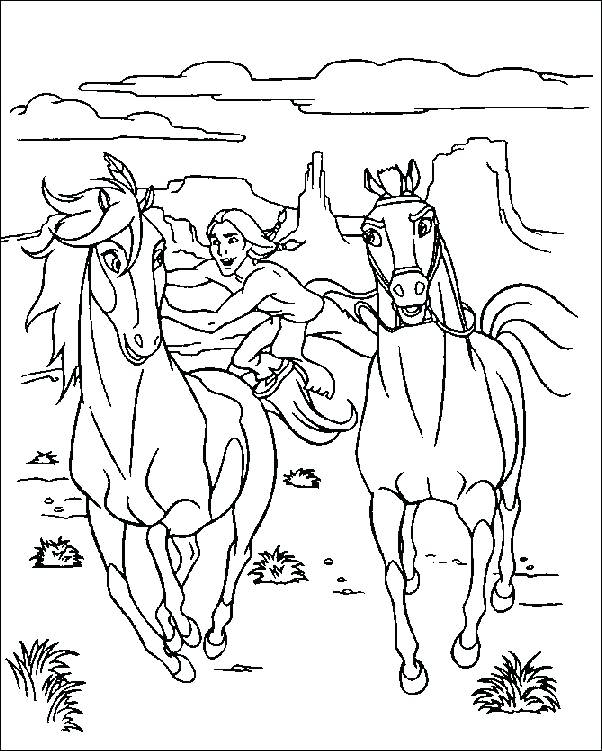 602x751 Wild West Coloring Sheets Spirit Coloring Pages To Print Callies