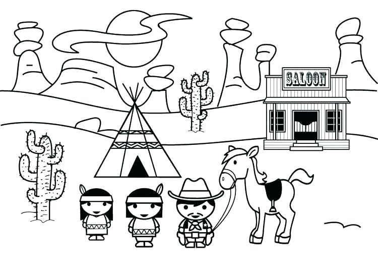 750x531 Old West Coloring Pages Western Coloring Pages Rattlesnake