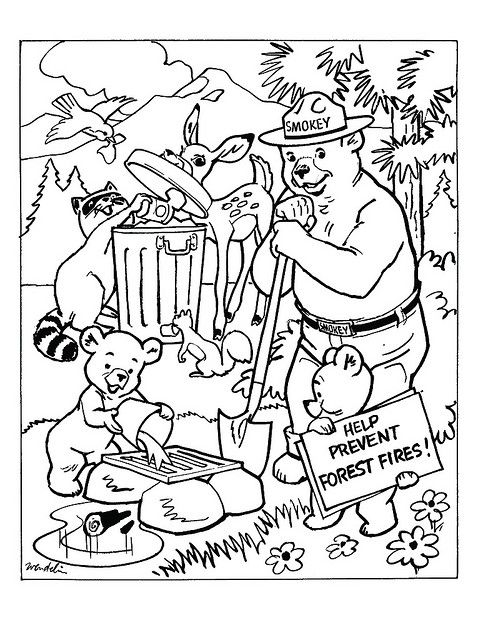 Wildfire Coloring Pages