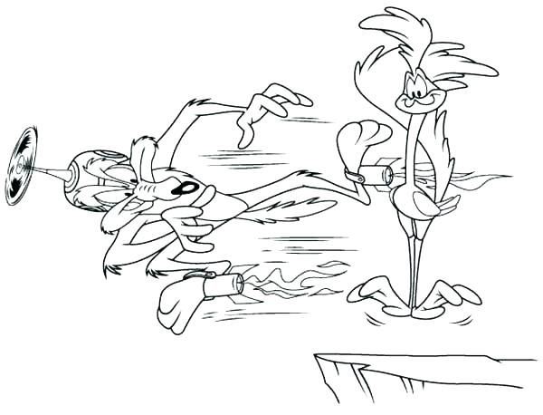 600x458 Road Runner Coloring Page Road Runner Coloring Page Coyote