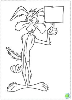 235x327 Coyote Looney Tunes Coloring Pages Coloring Page