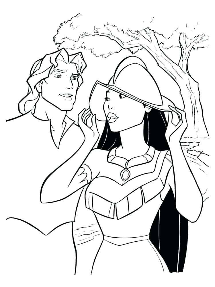 750x1000 Pocahontas Coloring Pages Coloring Pages Coloring Pages