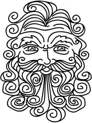 Wind Blowing Coloring Pages