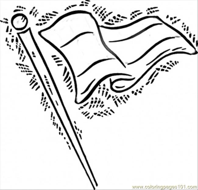 650x623 German Flag In The Wind Coloring Page