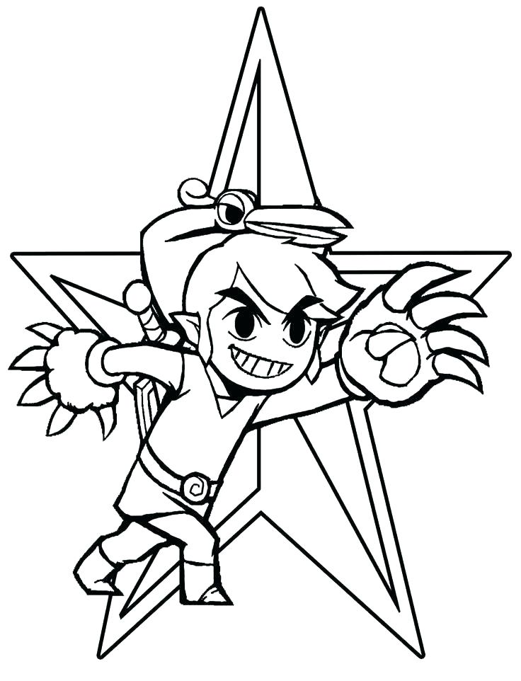 736x962 Zelda Coloring Pages Legend Of Ng Pages Online Printable For Kids
