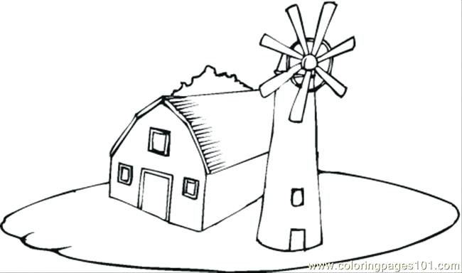 650x384 Farm House Coloring Pages Wonderful Farm Barn Coloring Pages Farm