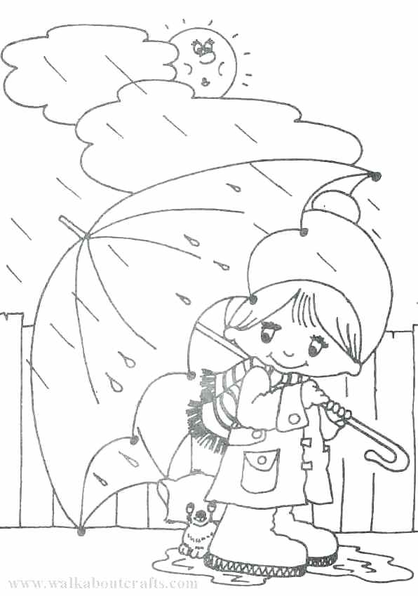596x850 Rainy Day Coloring Page Cool Inspiration Crafts For Rainy Days