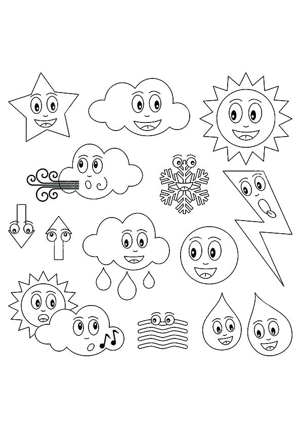 595x842 Weather Coloring Pages Image Of Windy Day Colouring Page Weather