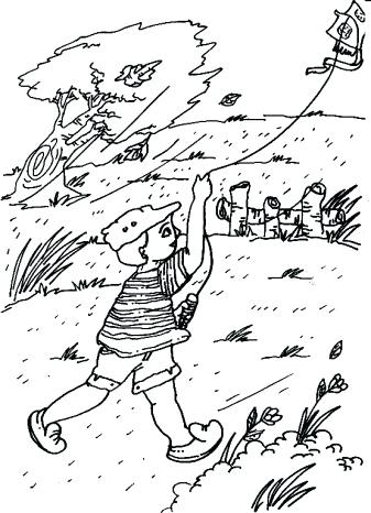 337x466 Windy Day Coloring Pages Click On The Coloring Page Or This Button