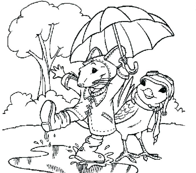 678x600 Cloudy Day Coloring Pages Great Enchanting Rainy For Preschoolers