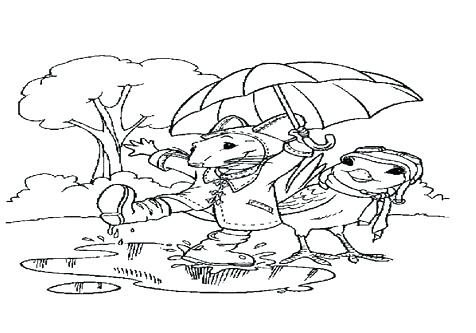 476x333 Windy Day Coloring Pages Rainy Day Coloring Page Coloring Trend