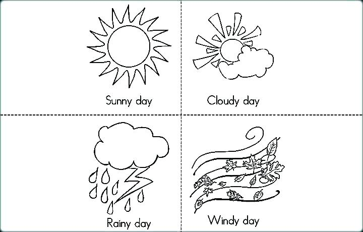 720x460 Windy Day Coloring Sheets Snowy Page Rain Sheet Rainy Pag Fuhrer