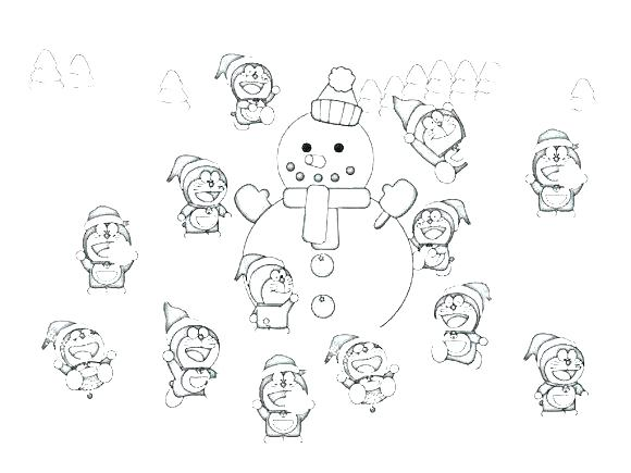580x435 Windy Day Coloring Sheets Snowy Page Snowman Sheet As Well And Pag