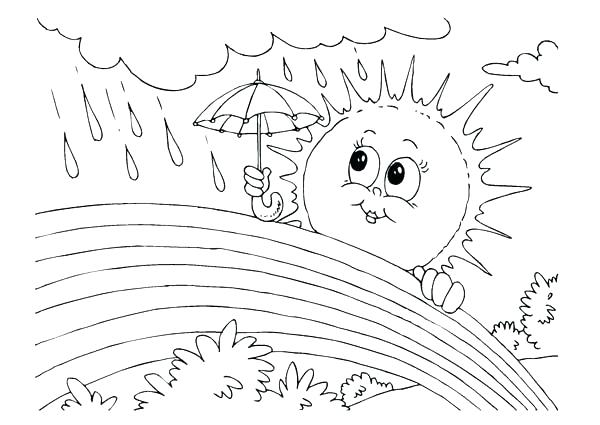 600x425 Weather Coloring Page Weather Coloring Pages Weather Coloring