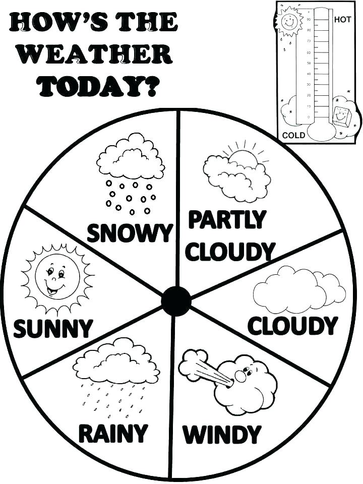 720x960 Coloring Pages Weather Weather Coloring Sheets Weather Color Pages