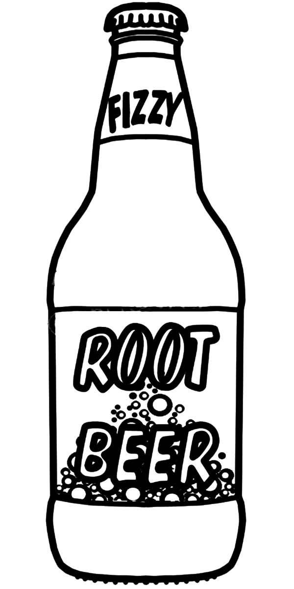 600x1200 Soda Bottle Coloring Pages