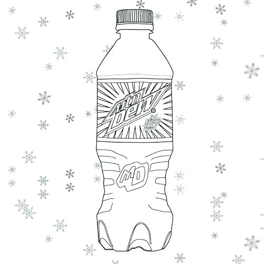 540x540 Water Bottle Coloring Page Water Bottle Coloring Page Water