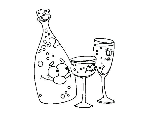 600x470 Wine Glass Coloring Page Wine Bottle Coloring Pages Online