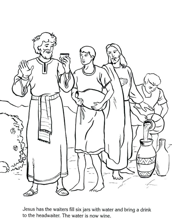 600x778 Miracles Coloring Pages Free Printable Coloring Pages For Kids