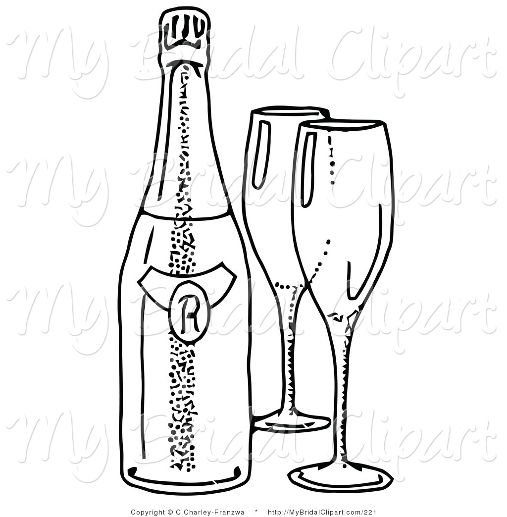 1024x1044 Wine Bottle Coloring Pages Bridal Clipart A Coloring Page