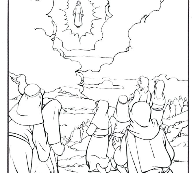 678x600 Jesus Turns Water Into Wine Coloring Page