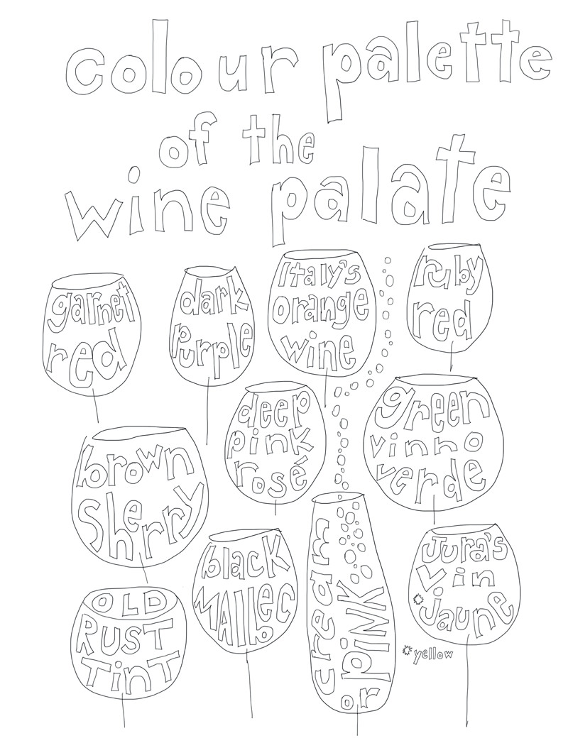 800x1047 Color This Adult Wine Themed Coloring Book Vinepair