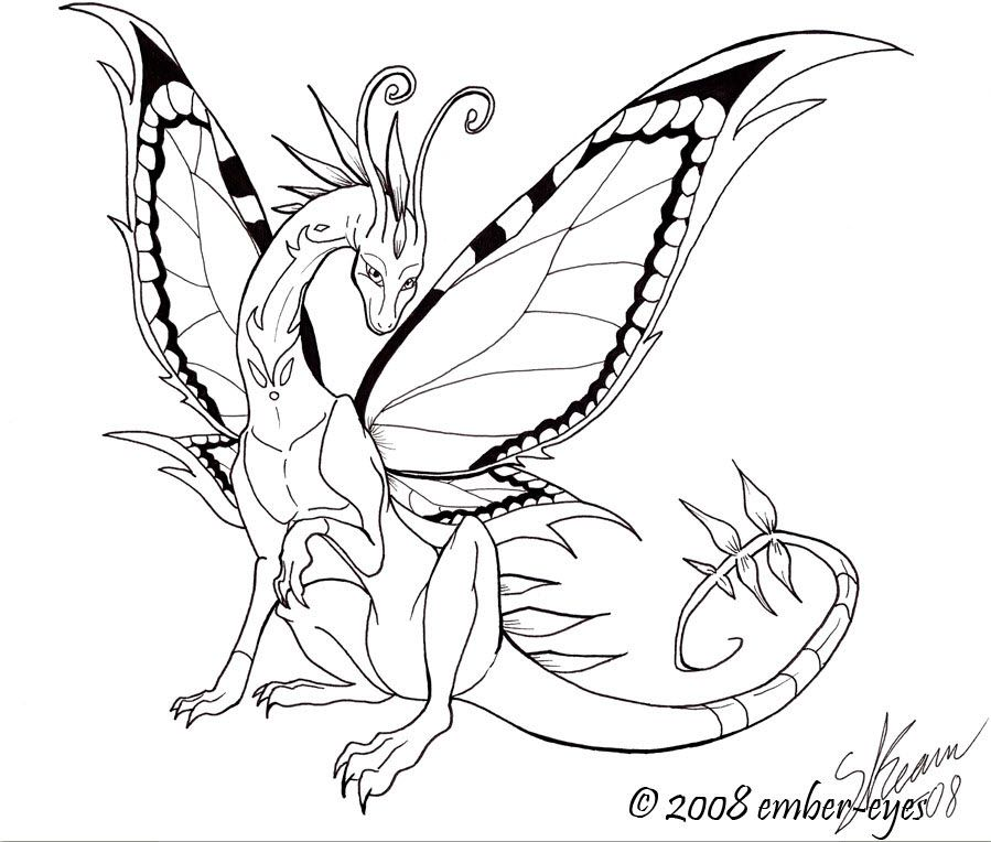 899x764 Cat Wings Coloring Pages