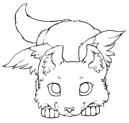 502x480 Winged Wolf Coloring Pages Realistic Wolf Coloring Pages Cute