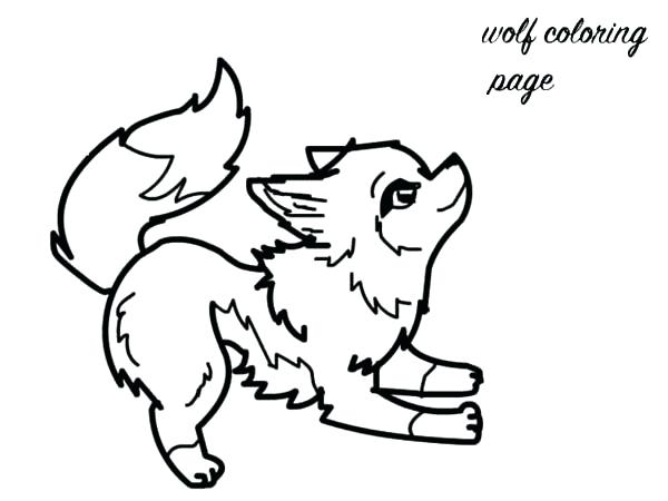 600x450 Wolf Coloring Pages For Adults