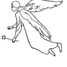 220x220 Fairy Wings Coloring Pages