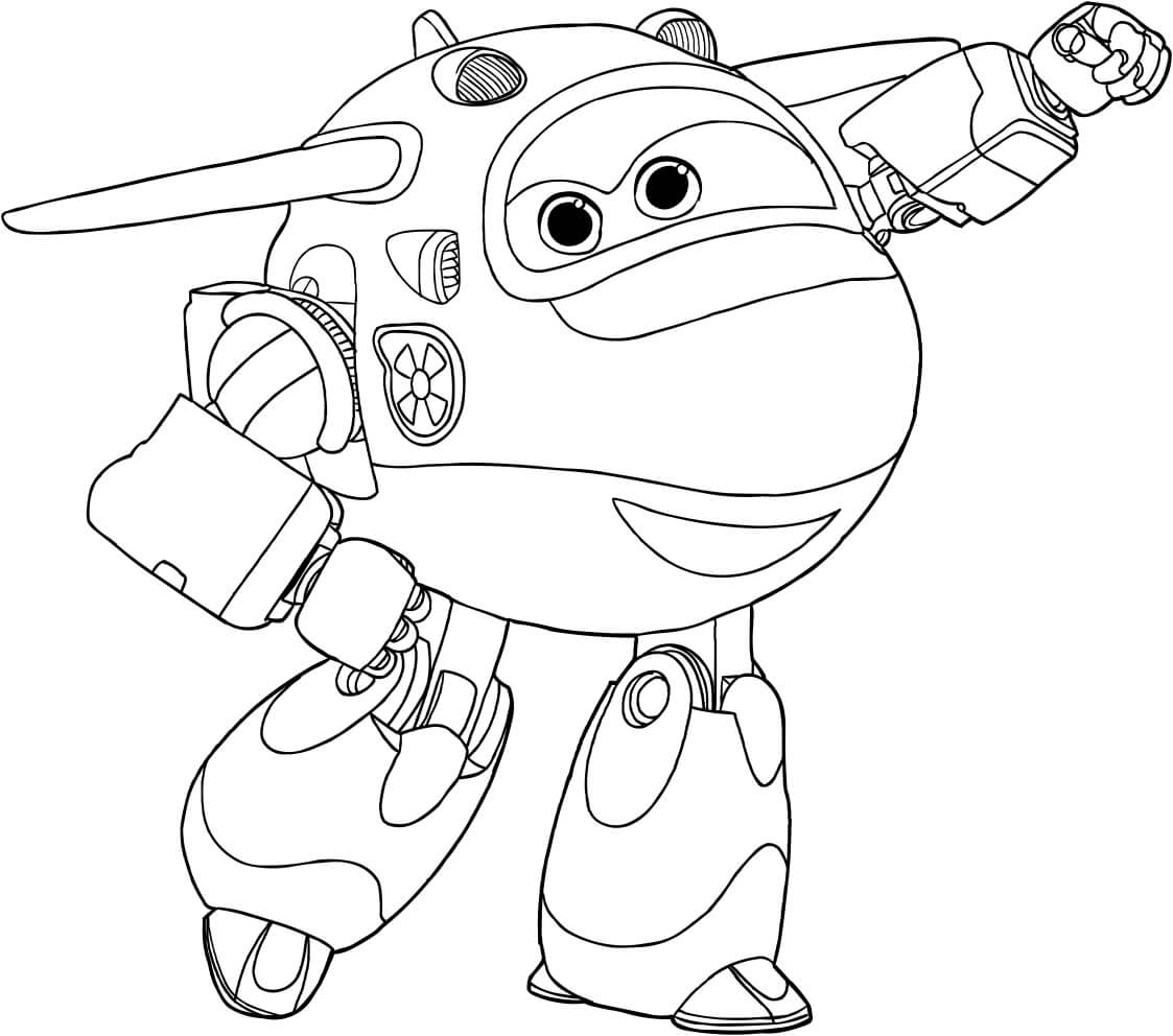 1123x992 Free Printable Super Wings Coloring Pages
