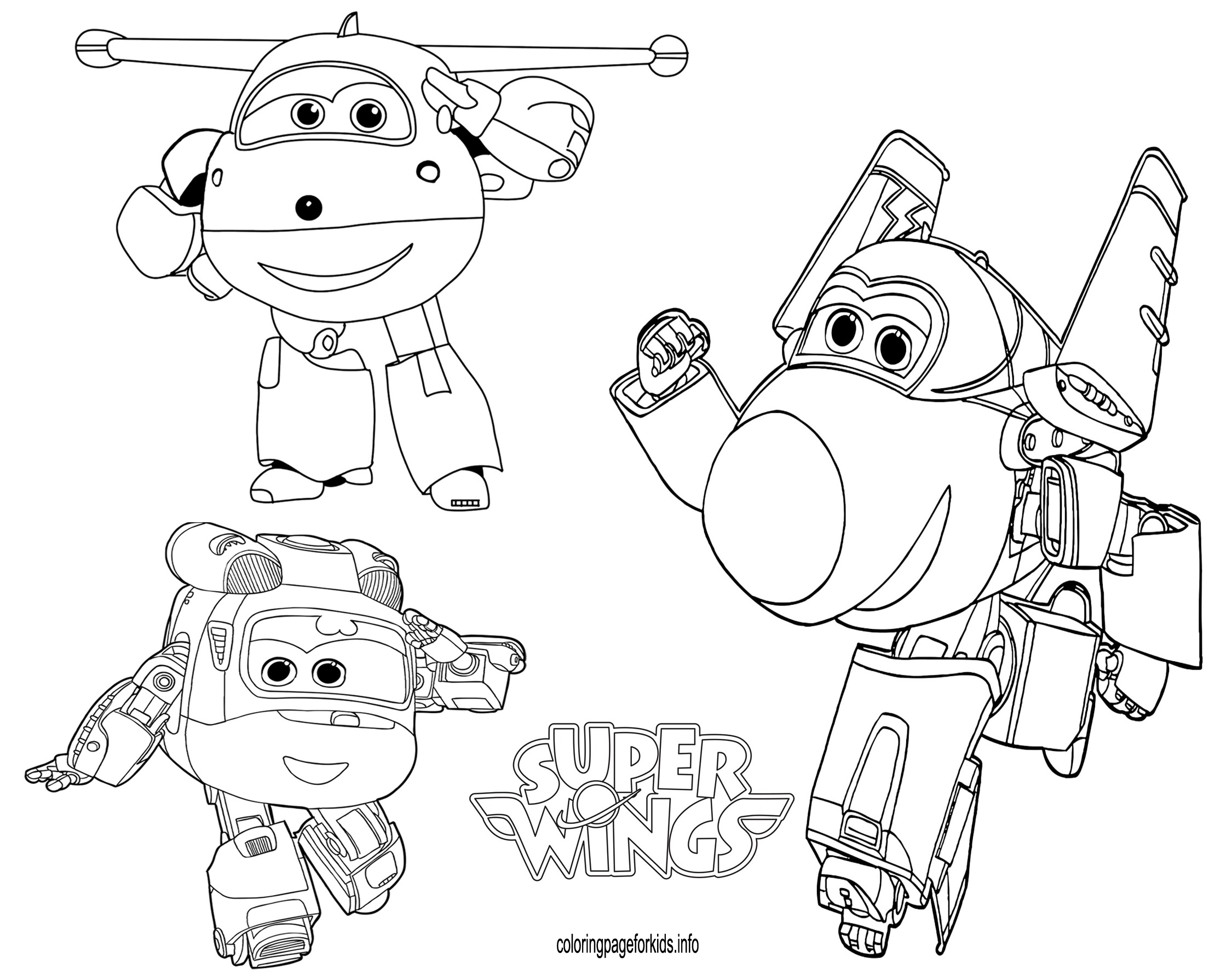 2250x1781 Super Wings Coloring Pages For Kids Printable