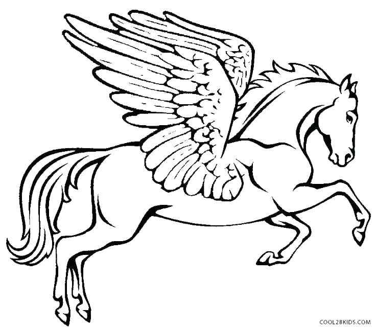 736x644 Unicorn With Wings Coloring Pages Unicorn Wings Coloring Pages As