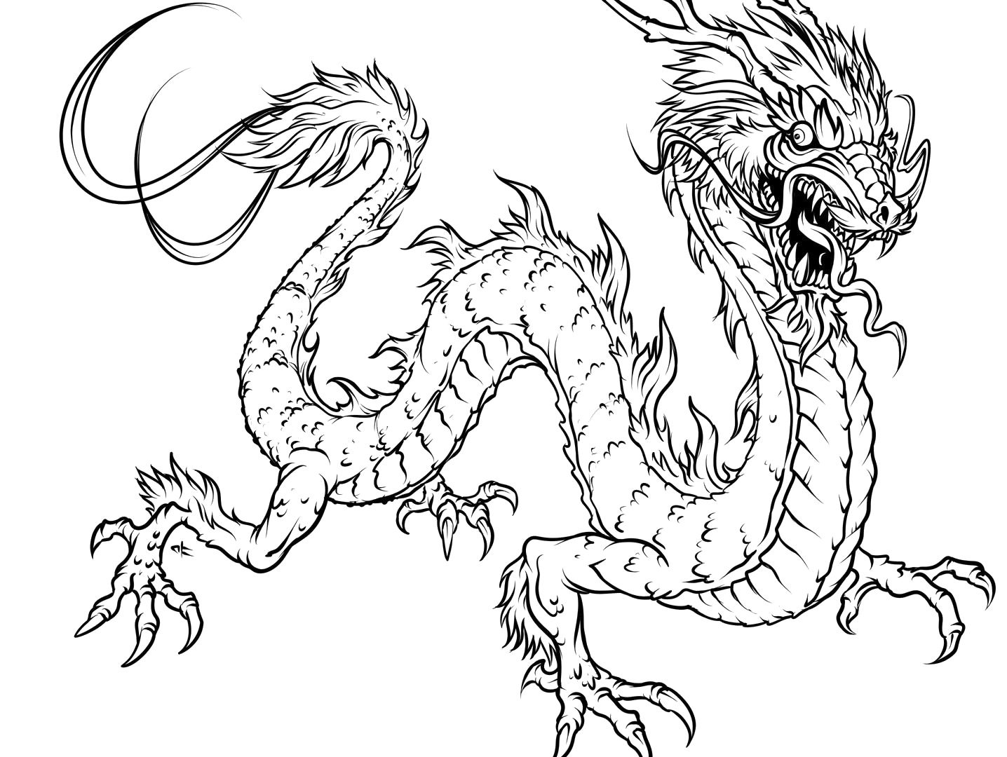 1436x1080 New Dragon Images To Color Icewing From Wings Of Fire Coloring