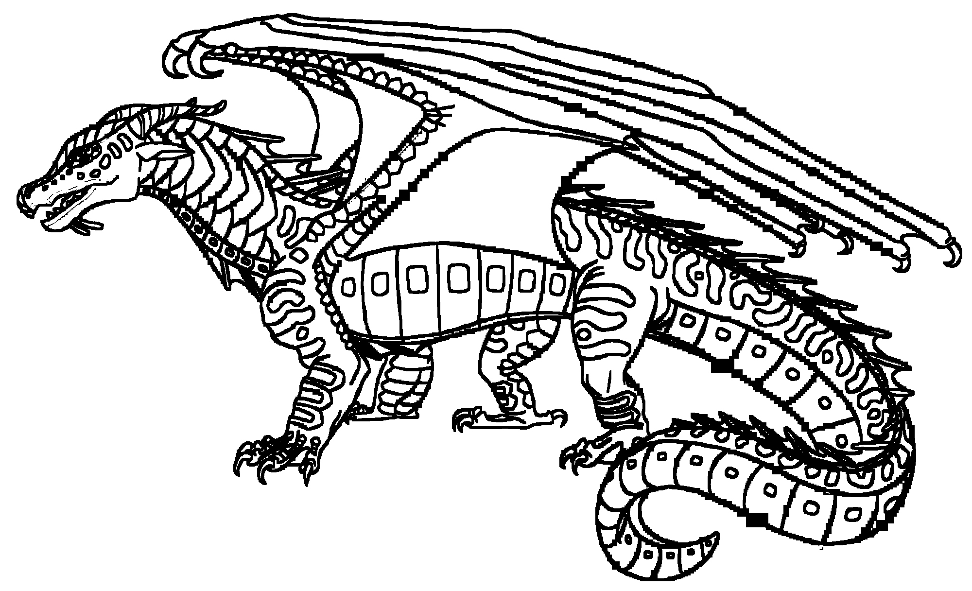 2000x1216 Wings Of Fire Coloring Pages Awesome Wings Fire Coloring Pages